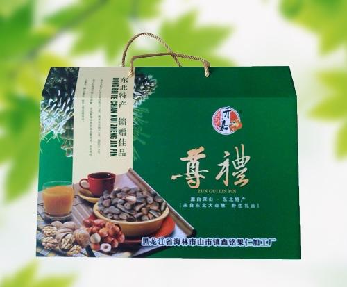 山东绿礼盒2000g